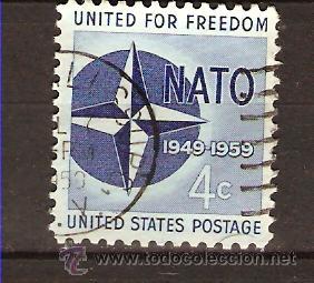 Y&T 666 USA 1959 (Sellos - Extranjero - América - Estados Unidos)