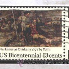 EE.UU. 1977 - YVERT NRO. 1170 - BICENTENNIAL 13C. - USADO
