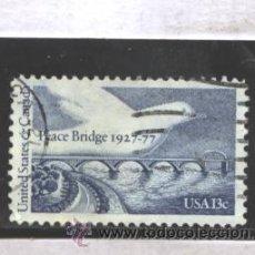 EE.UU. 1977 - YVERT NRO. 1169 - PEACE BRIDGE 13C. - USADO
