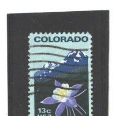 EE.UU. 1977 - YVERT NRO. 1158 - CENTENNIAL COLORADO 13C. - USADO