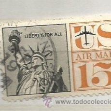 Sellos: ESTADOS UNIDOS 1959. ESTATUA DE LA LIBERTAD, CORREO AÉREO. Lote 40959022
