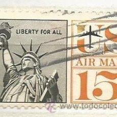Sellos: ESTADOS UNIDOS 1959. ESTATUA DE LA LIBERTAD, CORREO AÉREO. Lote 40959024