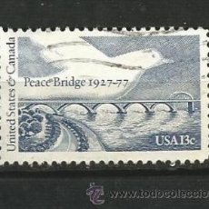 Francobolli: ESTADOS UNIDOS 1977. PUENTE DE LA PAZ. Lote 41420995