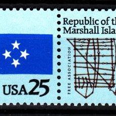 Sellos: ESTADOS UNIDOS 1915/16** - AÑO 1990 - ESTADOS FEDERADOS DE MARSHALL Y MICRONESIA. Lote 41988295