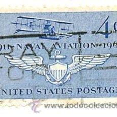 Sellos: 2-USA716. SELLO USADO EE.UU. YVERT Nº 716. 50 ANIV. NAVAL AVIATION. Lote 42620125