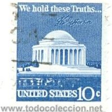 Sellos: 2-USA1008A. SELLO USADO EE.UU. YVERT Nº 1008A. WE HOLD THESE TRUTHS. Lote 42706391