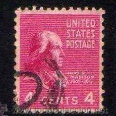 Sellos: ESTADOS UNIDOS: 1938 PRESIDENTES: MADISON - YVERT N.373. Lote 44164867