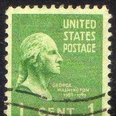 Stamps - ESTADOS UNIDOS: 1938 PRESIDENTES: WASHINGTON - YVERT N.369 USADO - 44194426