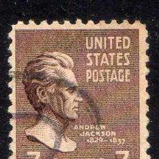 Sellos: ESTADOS UNIDOS: 1938 PRESIDENTES: JACKSON - YVERT N.377 USADO. Lote 44194511