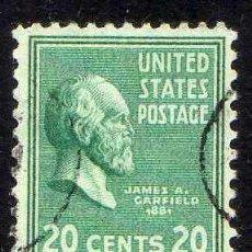 Sellos: ESTADOS UNIDOS: 1938 PRESIDENTES: GARFIELD - YVERT N.390 USADO . Lote 44214755