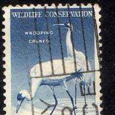 Stamps - ESTADOS UNIDOS: 1956 PRESERVACIO FAUNA SALVAJE YVERT N.612B USADO - 44394481