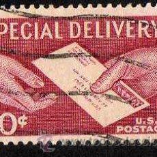 Sellos: ESTADOS UNIDOS: 1954 CORREO URGENTE N.17 USADO. Lote 44433339