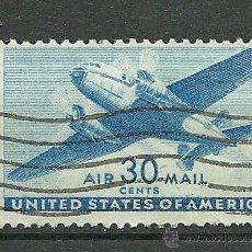 Sellos: YT 31 CORREO AEREO - USA - 1944. Lote 45420010