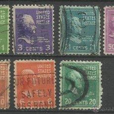 Sellos: EEUU 1938 SELLOS PRESIDENTES DE LOS ESTADOS UNIDOS. Lote 45767258