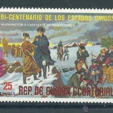 Sellos: R2/ BI CENTENARIO DE LOS ESTADOS UNIDOS. Lote 47034001