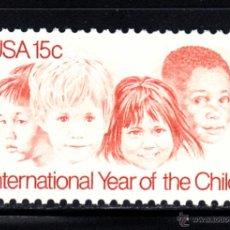Sellos: ESTADOS UNIDOS 1235** - AÑO 1979 - AÑO INTERNACIONAL DEL NIÑO. Lote 206950047