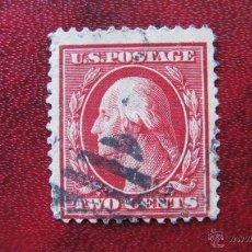 Sellos: ESTADOS UNIDOS, 1908, WASHINGTON, YVERT 168. Lote 47863774