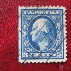 Sellos: ESTADOS UNIDOS, 1908, WASHINGTON, YVERT 171. Lote 47863825