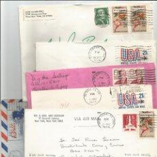 Sellos: LOTE DE 6 SOBRES HISTORIA POSTAL - UNITED STATES OF AMERICA. Lote 49417726