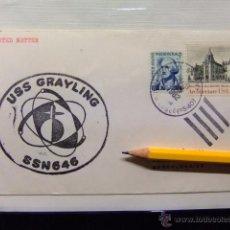 Sellos: SUBMARINO - SUBMARINE- USS GRAYLING SSN 646. Lote 49543516