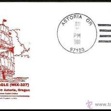 Sellos: USA VELERO ESCUELA USCG EAGLE 1999. Lote 5706425