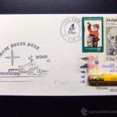 Sellos: SUBMARINO SUBMARINE USCGC POLAR STAR WAGB 10. Lote 50369769