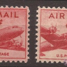 Sellos: 1949 U.S. POSTAGE AIRMAIL MNH** 2 STAMPS** SUPERB . Lote 50667575