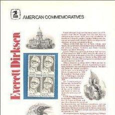 Sellos: USA 1981 COMMEMORATIVE PANEL 138. Lote 8344467