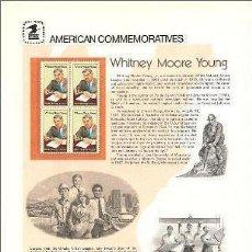 Sellos: USA 1981 COMMEMORATIVE PANEL 139. Lote 8344552