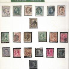 Sellos: COLECCION SELLOS DE EEUU. Lote 52143900