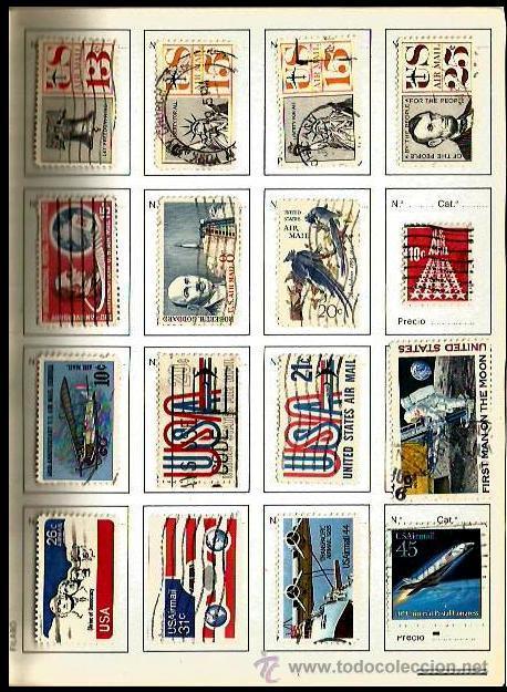 Sellos: USA LIBRETA CON PEQUEÑA COLECCION - Foto 3 - 30096221