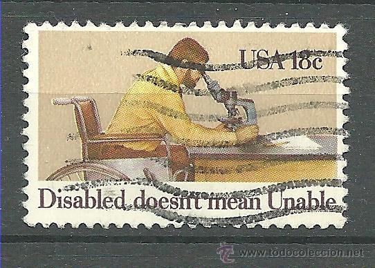 YT 1349 ESTADOS UNIDOS 1981 (Sellos - Extranjero - América - Estados Unidos)