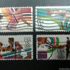 Sellos: SELLOS DE ESTADOS UNIDOS. DEPORTES. YVERT 1487/90. SERIE COMPLETA USADA.. Lote 55104753