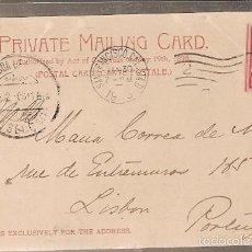 Sellos: ESPANA & BILHETE POSTAL, SAN FRANCISCO CALIFORNIA, SUTRO BATHS, LISBOA PORTUGAL 1903 (10). Lote 56313849
