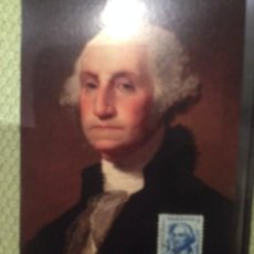Sellos: LOTE SELLO Y POSTAL GEORGE WASHINGTON. Lote 58827301