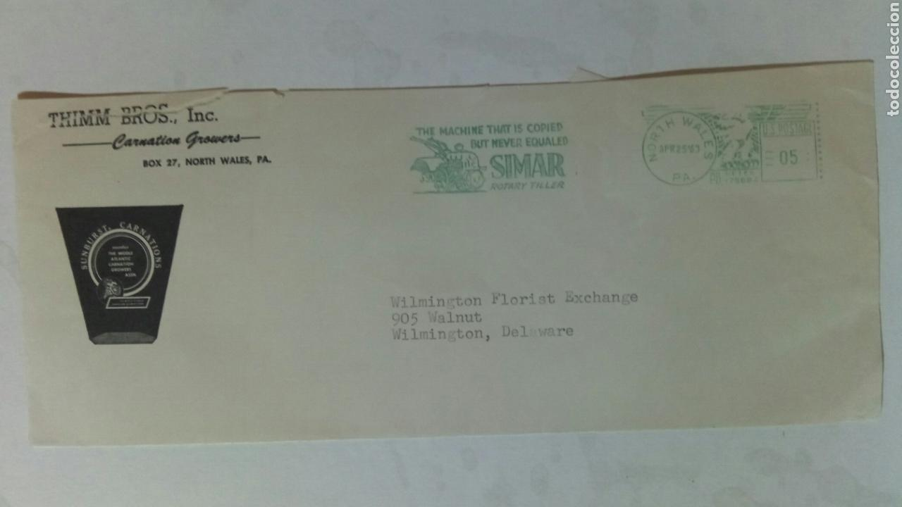 USA FRANQUEO MECÁNICO 1963 SIMAR (Sellos - Extranjero - América - Estados Unidos)