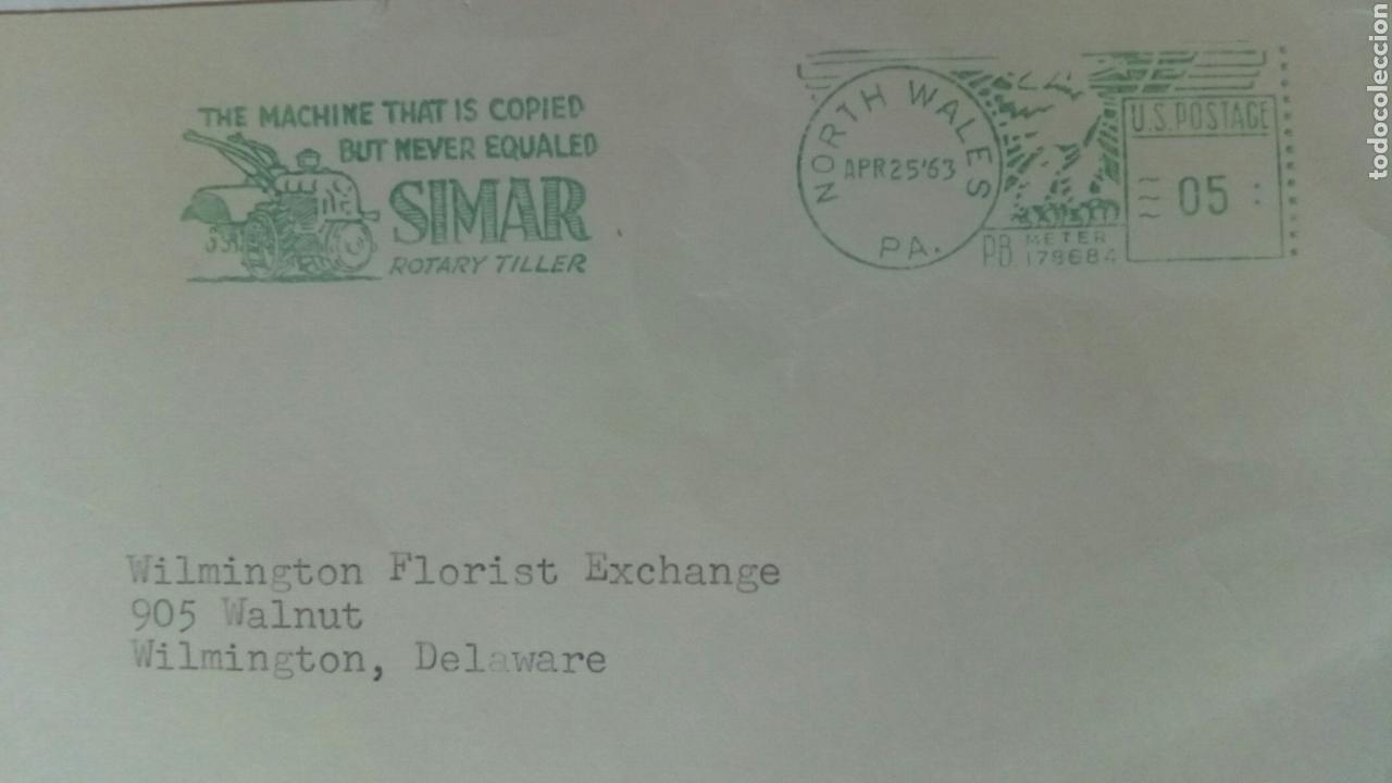 Sellos: USA franqueo mecánico 1963 SIMAR - Foto 2 - 74748002
