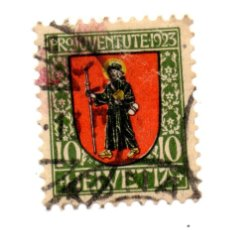 Stamps - SUIZA 1923 HELVETIA Nº 185 - 80045953