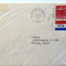 Sellos: SOBRE ESTADOS UNIDOS CIRCULADO. 1963. Lote 81670572