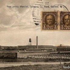 Sellos: EEUU 1926 - TARJETA POSTAL CIRCULADA DE GARFIELD (NEW JERSEY) A LA CORUÑA (ESPAÑA). Lote 82215648
