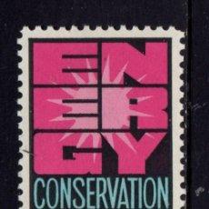 Sellos: ESTADOS UNIDOS 1036** - AÑO 1974 - AHORRO DE ENERGÍA. Lote 128662131