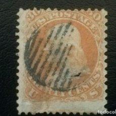 Timbres: ESTADOS UNIDOS USA , YVERT Nº 25 , 1861 . Lote 86207276