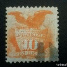 Sellos: ESTADOS UNIDOS USA , YVERT Nº 33 , 1869 . Lote 86209168