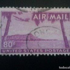 Sellos: ESTADOS UNIDOS , CORREO AÉREO YVERT Nº 45 , 1952 , USA UNITED STATES . Lote 86328532