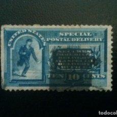 Sellos: ESTADOS UNIDOS , CORREO URGENTE EXPRES YVERT Nº 3 , DEFECTUOSO, 1885, SCOTT E1UNITED STATES. Lote 86332172