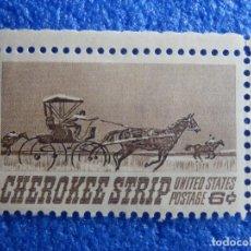 Sellos: SELLO - USA - CORREOS - CHEROKEE STRIP - 6 CTS -. Lote 93051090