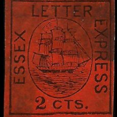 Sellos: USA 1856 ESSEX LETTER EXPRESS . Lote 96504583