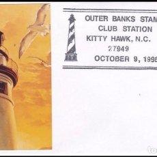 Selos: USA 1996 FARO OUTER BANKS CON FOTO. Lote 96863691