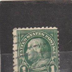 Sellos: EE.UU. 1922 - YVERT NRO. 228 - USADO - BAJA CALIDAD. Lote 100732435