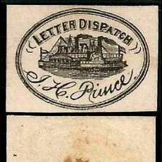 Sellos: USA 1861 MENSAJERIA PRIVADA J. H. PRINCE . Lote 102156011